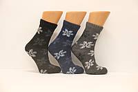 Женские носки с тонкой шерсти НЛ 36-40  снежинка