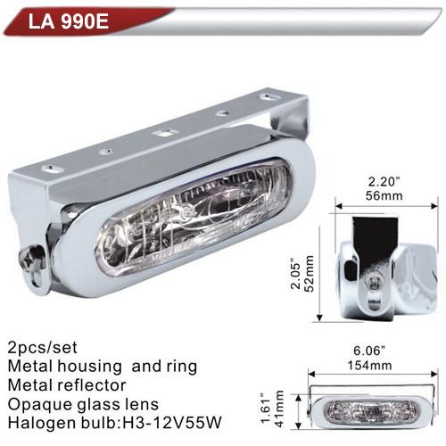 Фара дополнительная  DLAA  990E-W/H3-12V-55W/154*41mm (LA 990E-W)