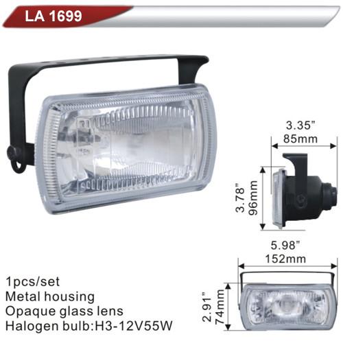 Фара дополнительная   DLAA 1699-W/H3-12V-55W/152*74mm (LA 1699-W)