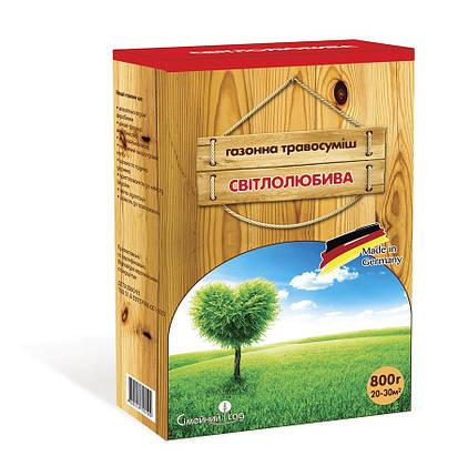 Семена Газонная трава Светолюбивая смесь 800 г Семейный сад 2720, фото 2