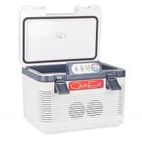 Холодильник автомобильный термоэлектрический 19л 12v/24v/220v CAREX RI-18-4DA, фото 1