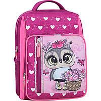 Рюкзак школьный Bagland Школьник 8 л. малиновый 688 (0012870), фото 1