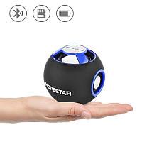 Портативная Bluetooth колонка Hopestar H46 аккустическая система шар с ФМ MP3 USB Синий, фото 1