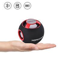 Портативная Bluetooth колонка Hopestar H46 аккустическая система шар с ФМ MP3 USB Красный, фото 1