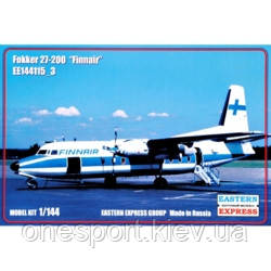 Пассажирский самолет Fokker 27-200 Finnair + сертификат на 50 грн в подарок (код 200-497808)