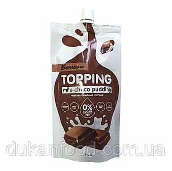 Соус BomBBar Молочно-шоколадный пудинг