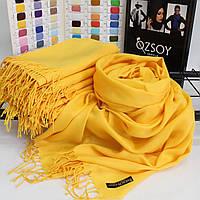 """Шарф палантин Ozsoy """"Луиза"""" солнечный желтый 116045"""