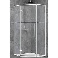 Душевая кабина Dusel DL197H Chrome 90х90х190 прозрачное стекло, фото 1