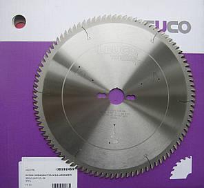 300x3,2/2,2x30 Z=96 Диск пильный по ламинату, ДСП и МДФ Leuco для форматно-раскроечных станков, фото 2