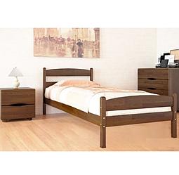 Дерев'яне ліжко з ізножьем -Ликерія.