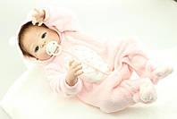 Силиконовая Коллекционная Кукла Реборн Alysi Девочка Мишель 57см. (TYUI)