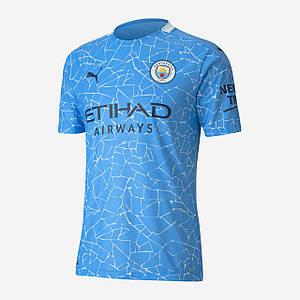 Футбольна форма Манчестер Сіті (Man City), домашня/блакитна сезон 20/21