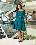 Платье женское изумруд, фото 2