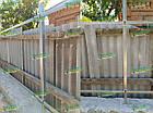 Металлический каркас для забора: х-кронштейн, столбики. Комплектующие для забора., фото 8