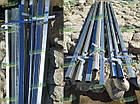 Металлический каркас для забора: х-кронштейн, столбики. Комплектующие для забора., фото 5