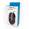 Миша дротова оптична CM-818 з підсвічуванням (в коробці) / Ігрова дротова миша / Геймерська миша, фото 2