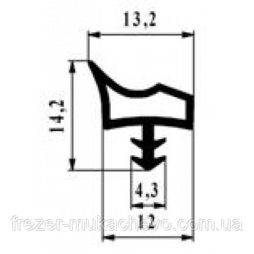 УД-516 Уплотнитель корич. ТРЕ