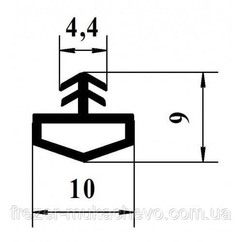 УД-522 Уплотнитель  Прозорий ТРЕ (домик)