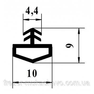 УД-522 Уплотнитель білий. ТРЕ (домик)