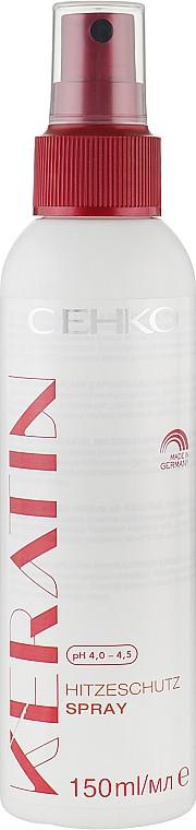 "Спрей для волос ""Антистатик с термозащитой"" C:EHKO Keratin 150 мл."