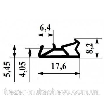 УД-554 Ущільнювач корич. (єврик)