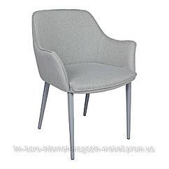 Кресло MILTON (51*61*78 cm текстиль) рогожка бледно-бирюзовый, Nicolas