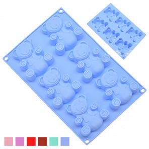 Форма для запікання STENSON ST-3015, 6шт''Барні'' кекс-упаков.\силікон