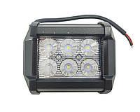 Светодиодные фары. LED (лэд) фара квадратная 6 диодов. 18 Вт. 12-24 Вольт.
