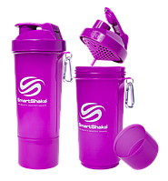 Шейкер SmartShake Slim NEON Purple (500 мл)