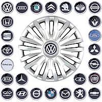 """Колпаки """"14"""" (SKS-217) + эмблемы на выбор (VW)"""