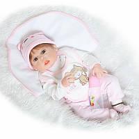 Силиконовая кукла реборн Alysi девочка57см. (CXBN)