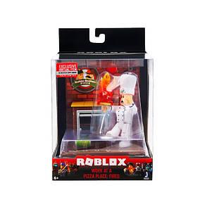 Ігрова колекційна фігурка Jazwares Roblox Desktop Series Work At A Pizza Place: Fired (ROB0262), фото 2