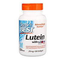 Препарат для улучшает работы глаз Doctor's Best Lutein with Lutemax (20 мг) (180 капс)
