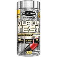 Бустер тестостерона MuscleTech AlphaTest (120 капс)