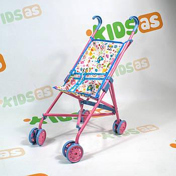 Коляска для ляльок дитячий 9302 W тростина багато забарвлень (9302 W)