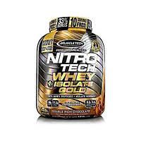 Протеин MuscleTech Nitro Tech Plus Isolate Gold (1,8 кг)
