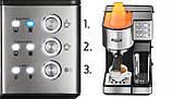 Автоматическая кофеварка высокого давления Yoer INOX PL 01513, фото 3