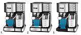 Автоматическая кофеварка высокого давления Yoer INOX PL 01513, фото 4