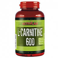 Л-Карнитин Activlab L-carnitine 600 with L-ornithine and L-arginine (60 капс)