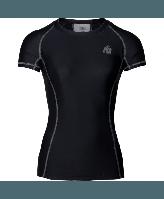 Футболка Gorilla Wear Carlin Compression Short Sleeve Top Black/Gray