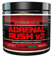 Предтренировочный комплекс Primeval Labs Adrenal Rush V2 (30 порций)