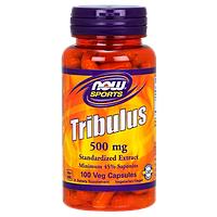 Трибулус NOW Tribulus 500 mg (100 капс)
