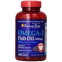 Комплекс незаменимых жирных кислот Puritan's Pride Omega 3 1200 mg (100 капс)
