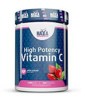 Витамины и минералы HAYA LABS High Potency Vitamin C 1000 мг with Rose Hips (250 капс)