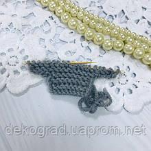 ВД Свитер Серый 3х7.5 см