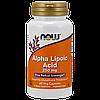 Альфа-липоевая кислота NOW Alpha Lipoic Acid (250 мг) (60 капс)