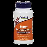 Антиоксидантная защита от вредных токсичных веществ NOW Super Antioxidants (60 капс)
