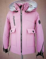 Стильная весна осень куртка для девочек., фото 3
