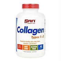 Препарат для восстановления суставов и связок SAN Collagen Types 1 & 3 (180 таб)
