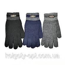 Перчатки для мужчин с эмблемами (продаются только от 12 пар)